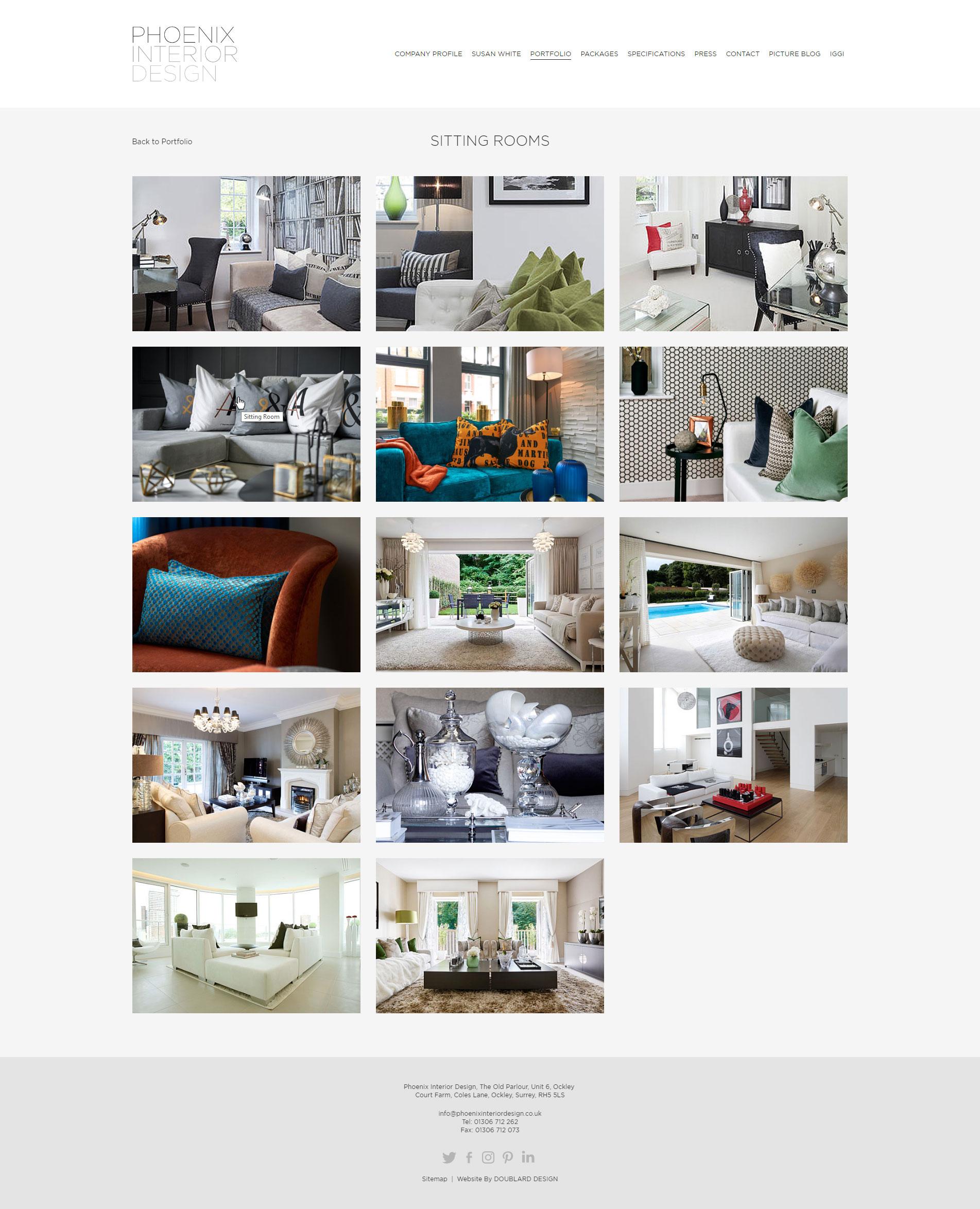 Phoenix Interior Design - Portfolio