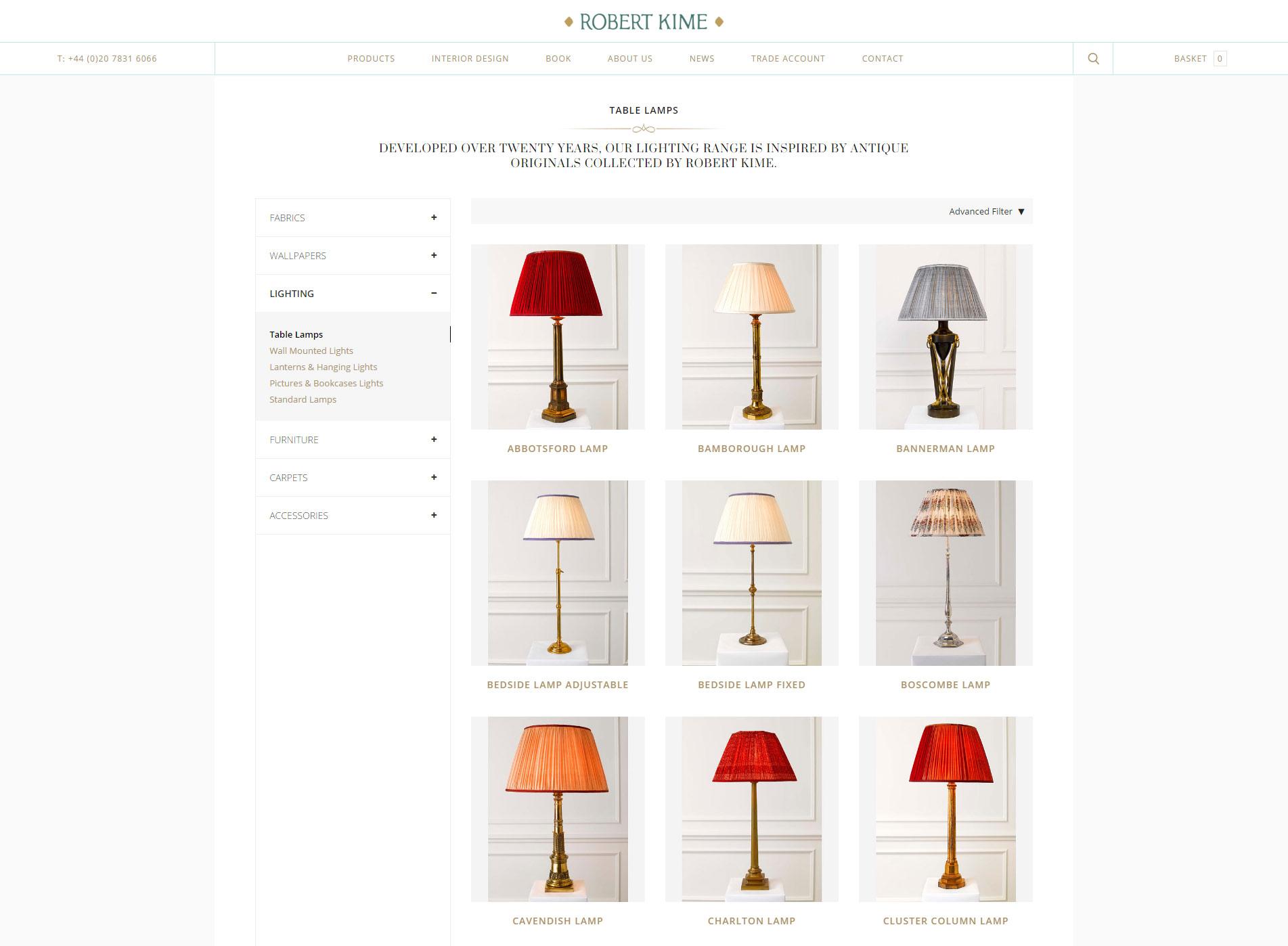 Robert Kime - Table Lamps