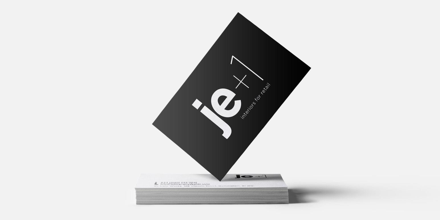 Je+1 Business Card